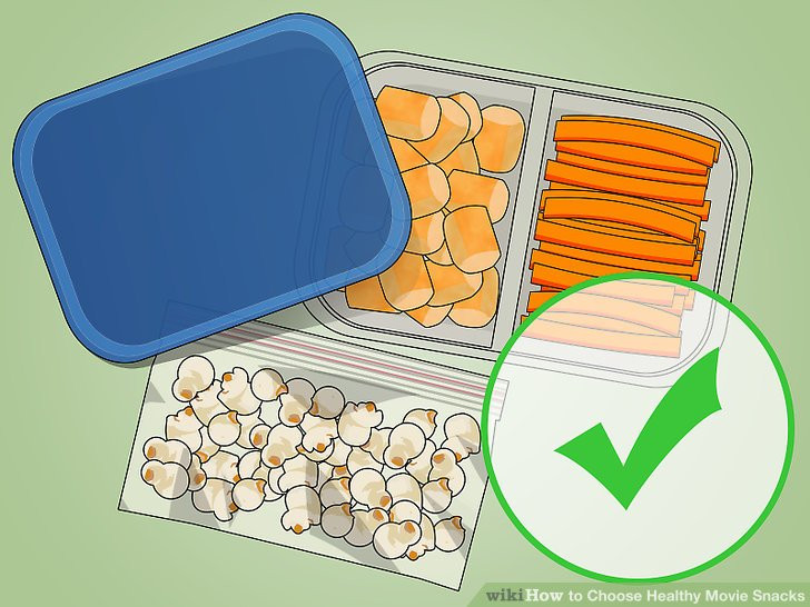 Healthy Movie Snacks To Sneak In  3 Ways to Choose Healthy Movie Snacks wikiHow
