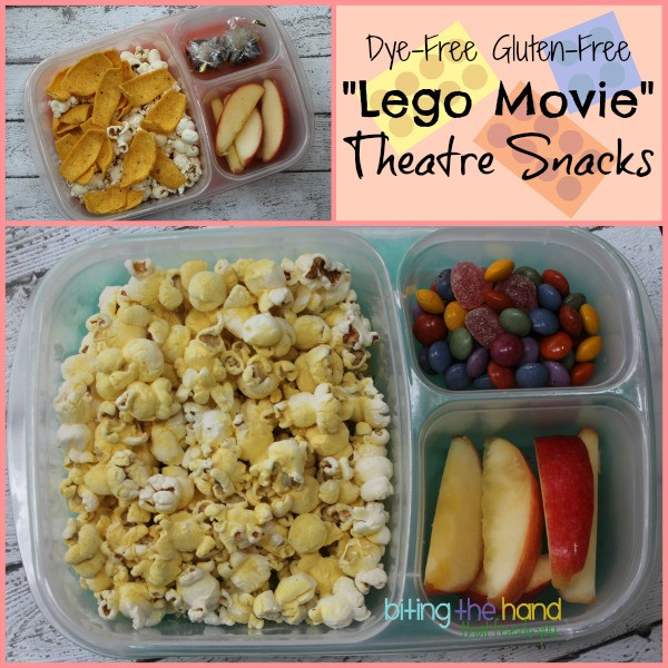 Healthy Movie Theater Snacks  Biting The Hand That Feeds You Everything is Awesome Dye