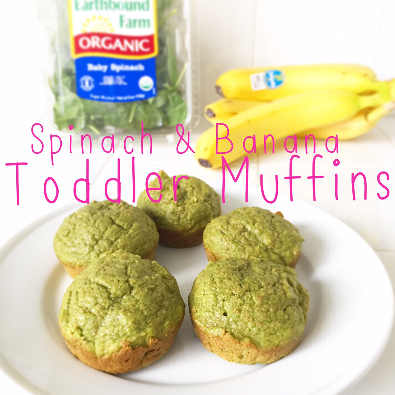 Healthy Muffins For Breakfast  Spinach Banana Healthy Breakfast Muffins Recipe for