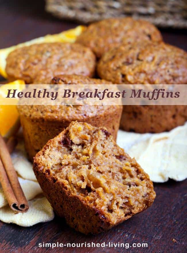 Healthy Muffins For Breakfast  mini breakfast muffins