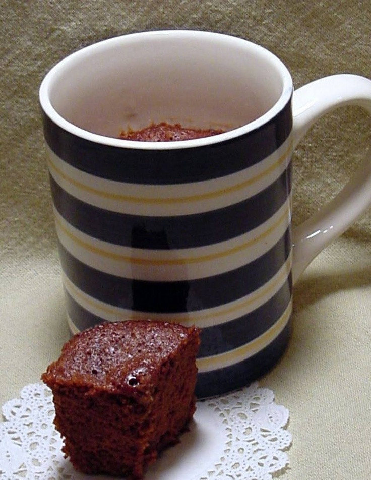 Healthy Mug Desserts  1000 images about desserts in a mug on Pinterest