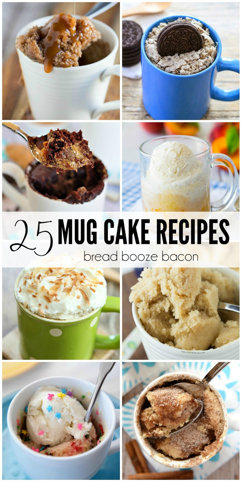 Healthy Mug Desserts  25 Mug Cake Recipes • Bread Booze Bacon