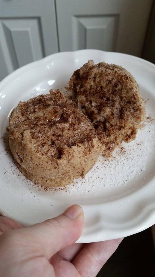 Healthy Mug Desserts  Coffee Cake in a Mug Trim Healthy Mama Breakfast Dessert