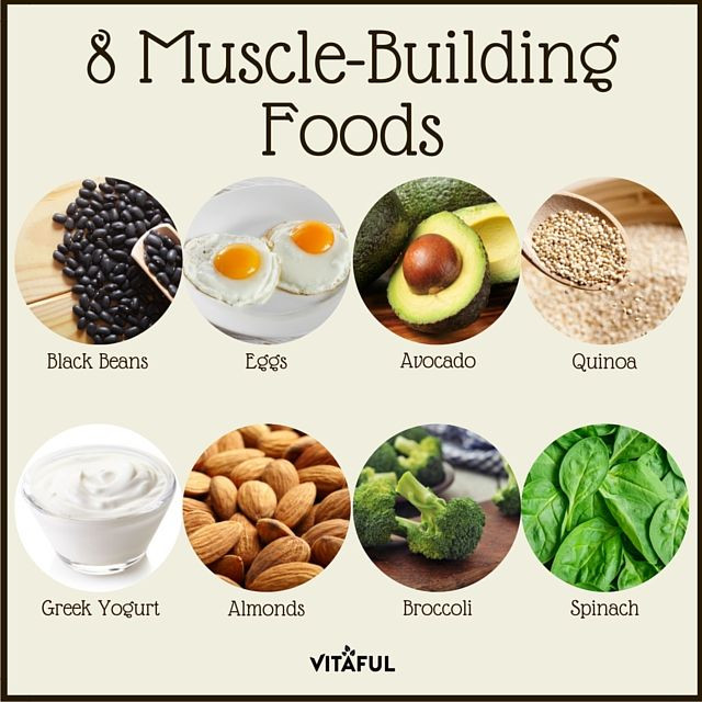 Healthy Muscle Building Snacks  8 Muscle Building Foods Protein Health