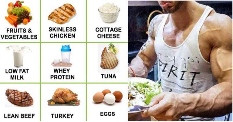 Healthy Muscle Building Snacks  The plete 4 Week Meal Plan For Men To Get Lean