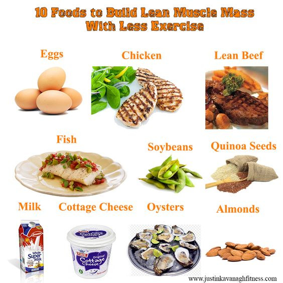 Healthy Muscle Building Snacks  Build Lean Muscle With A High Protein Diet