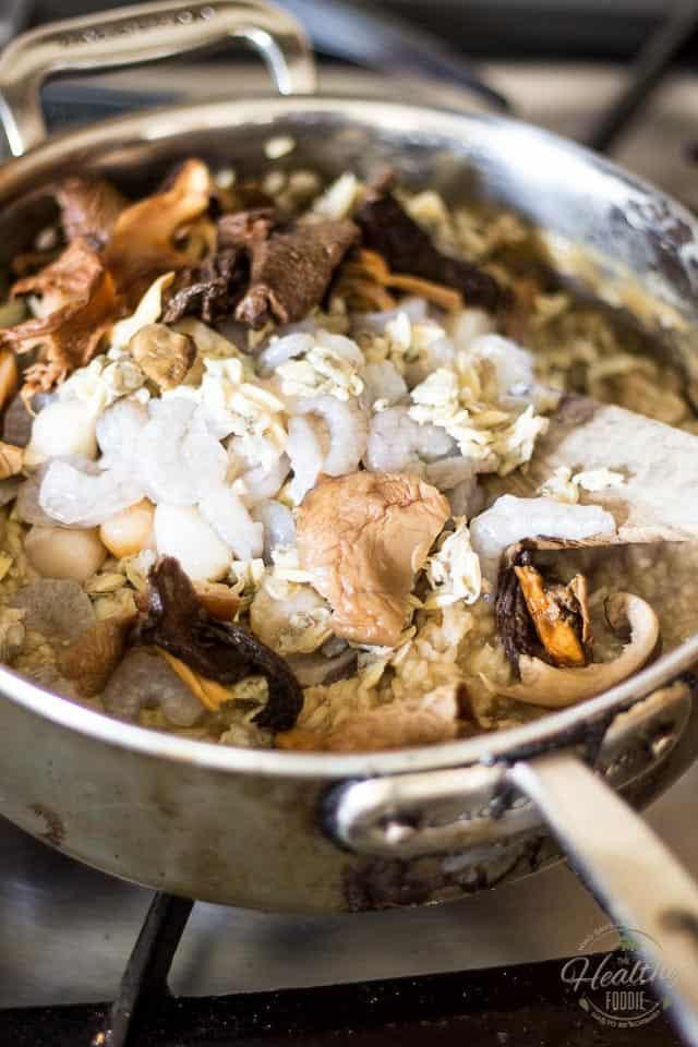 Healthy Mushroom Risotto  Seafood and Wild Mushroom Risotto