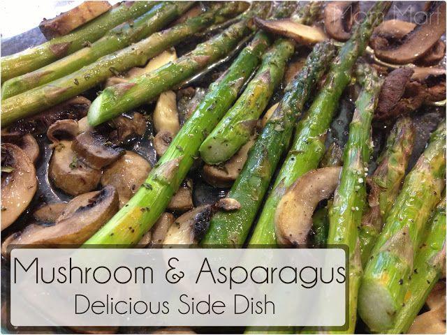 Healthy Mushroom Side Dish  Mushroom and Asparagus Ve able Side Dish Recipe Healthy