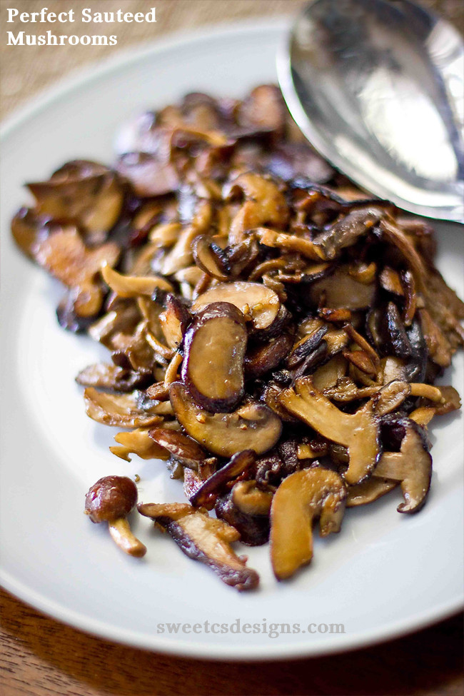 Healthy Mushroom Side Dish  10 Ve able Side Dishes for Thanksgiving Upstate Ramblings