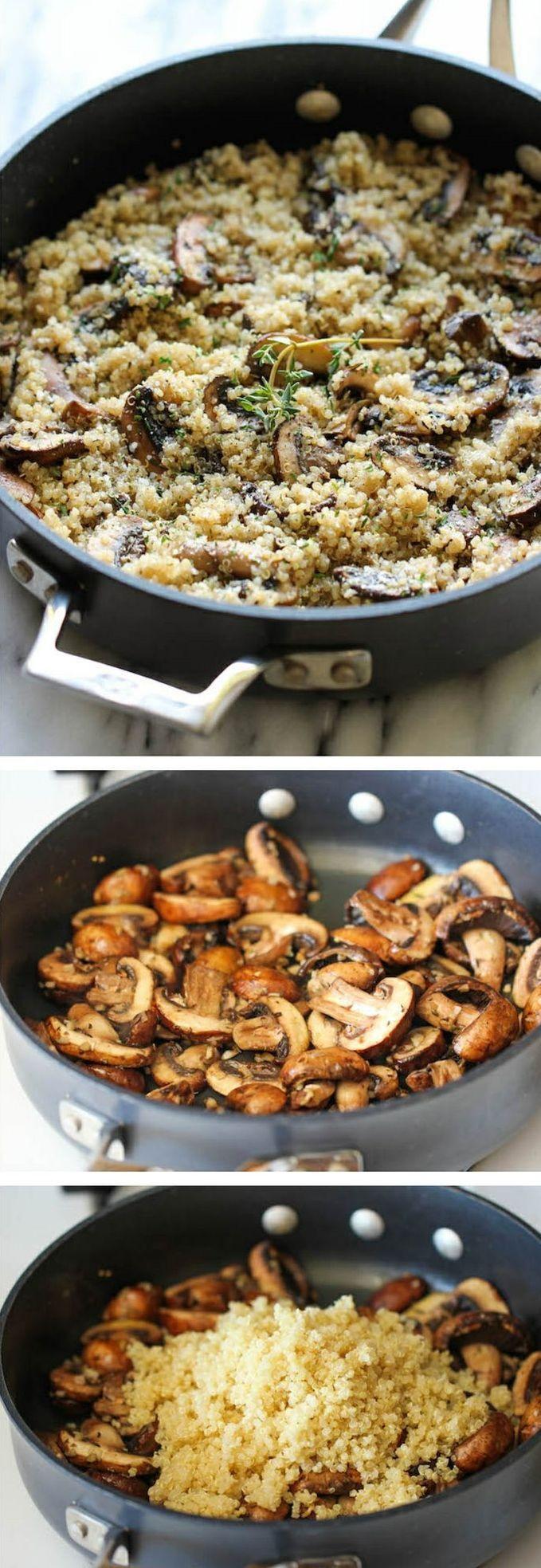 Healthy Mushroom Side Dish  Best 25 Couscous recipes ideas on Pinterest