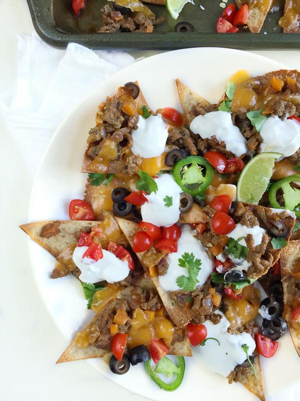 Healthy Nachos Recipe  Healthy Beef Nachos Recipe for 374 Calories