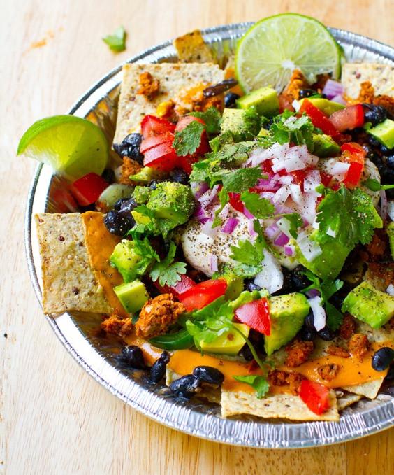 Healthy Nachos Recipe  The Big Vegan Super Bowl Recipe Round Up — Oh She Glows