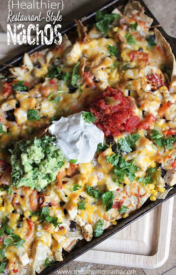 Healthy Nachos Recipe  Healthy Restaurant Style Nachos Recipe