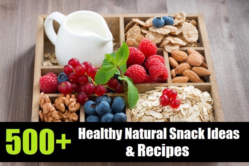 Healthy Natural Snacks  500 Healthy Natural Snack Ideas & Recipes