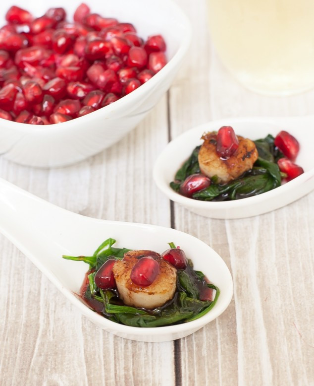 Healthy New Year'S Eve Appetizers  Healthy Appetizer for New Year s Eve Pomegranate Scallop