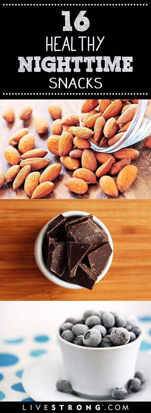 Healthy Night Snacks  16 Snacks That Are OK to Eat at Night