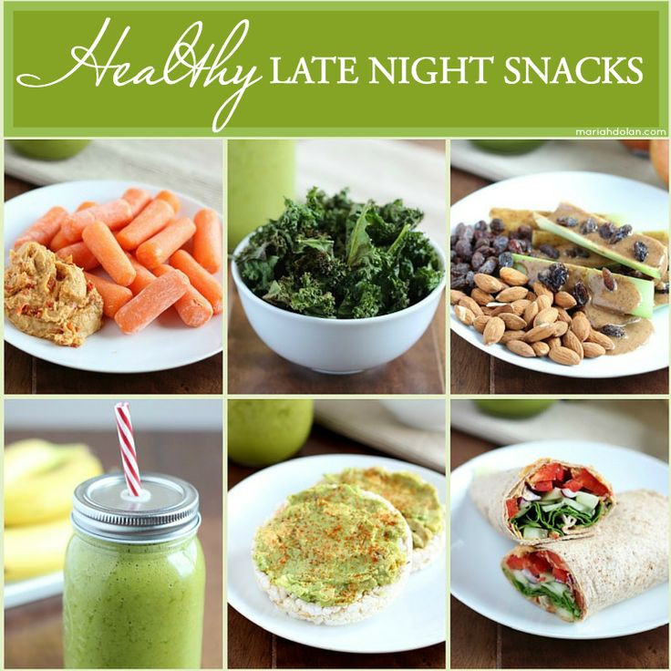 Healthy Nighttime Snacks  1000 ideas about Healthy Late Night Snacks on Pinterest