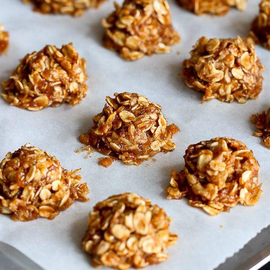 Healthy No Bake Banana Oatmeal Cookies  Healthy No Bake Cookies Recipe with Maple & Banana Vegan