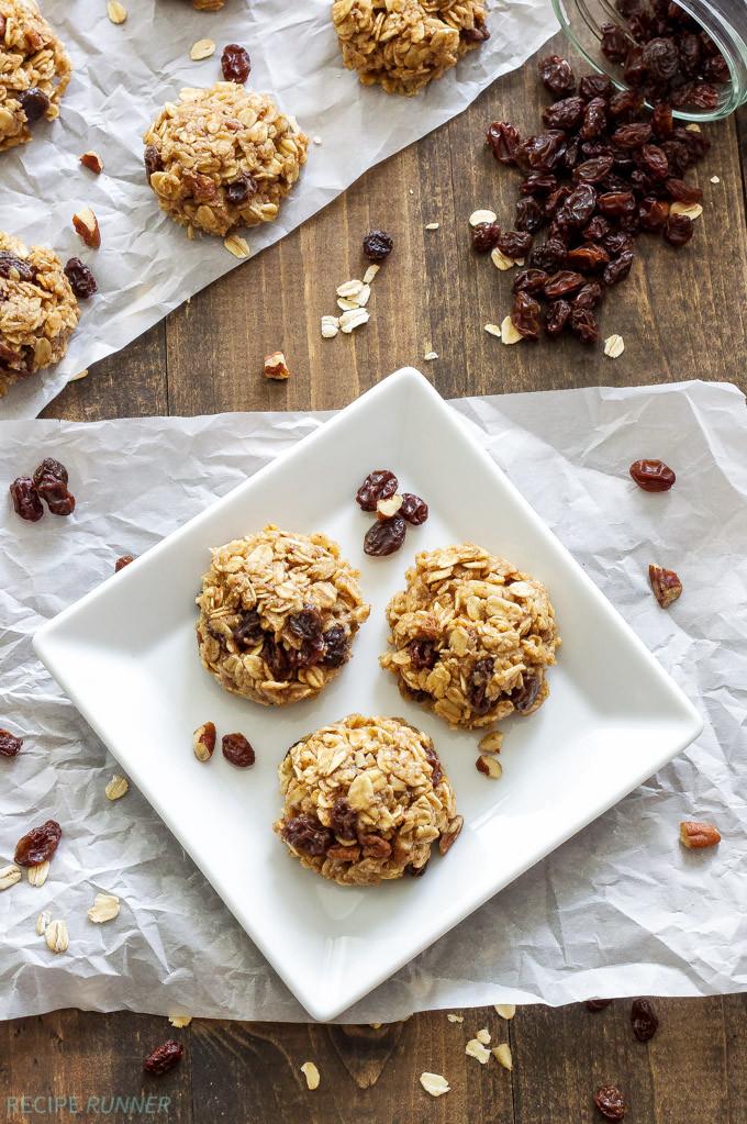 Healthy No Bake Banana Oatmeal Cookies  Healthy No Bake Oatmeal Raisin Cookies Recipe Runner