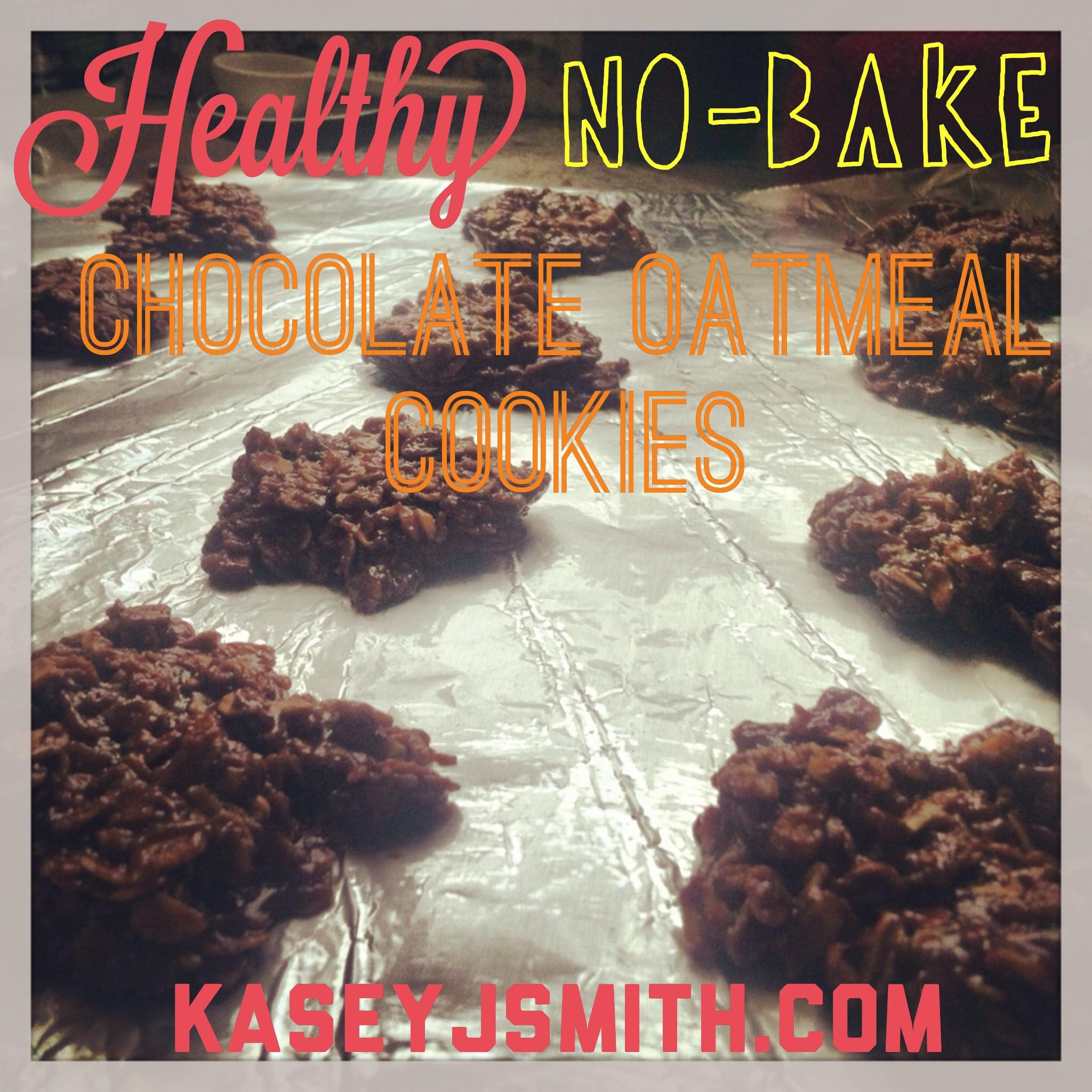 Healthy No Bake Chocolate Oatmeal Cookies  Healthy No Bake Chocolate Oatmeal Cookies gluten free