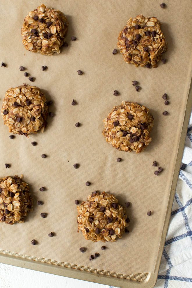 Healthy No Bake Chocolate Oatmeal Cookies  Healthy No Bake Chocolate Peanut Butter Oatmeal Cookies