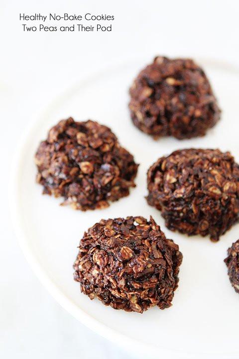 Healthy No Bake Cookies  Healthy No Bake Cookies Gluten Free Cookie Recipe