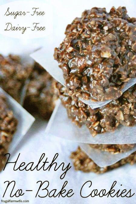 Healthy No Bake Cookies Sugar Free  10 Easy Sugar Free Cookie Recipes