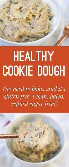 Healthy No Bake Cookies Sugar Free  22 best Health Desserts images on Pinterest