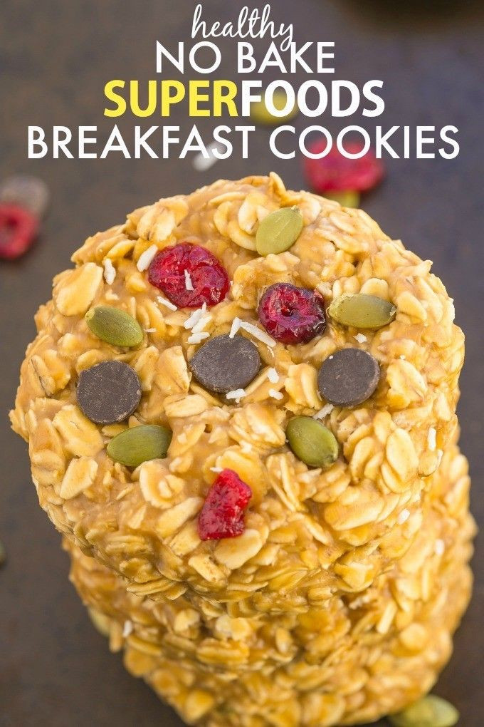 Healthy No Bake Cookies Sugar Free  213 best images about Food for kids on Pinterest