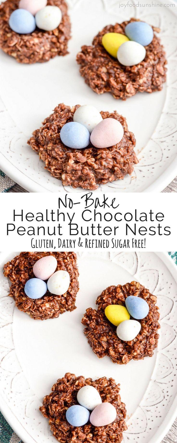 Healthy No Bake Cookies Sugar Free  Best 25 Easter treats ideas on Pinterest