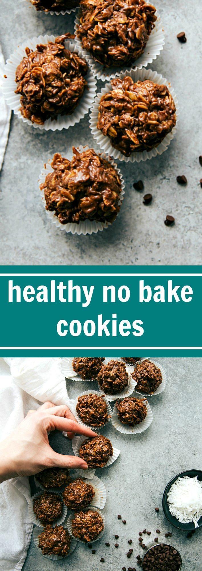 Healthy No Bake Cookies  Healthy No Bake Cookies Chelsea s Messy Apron