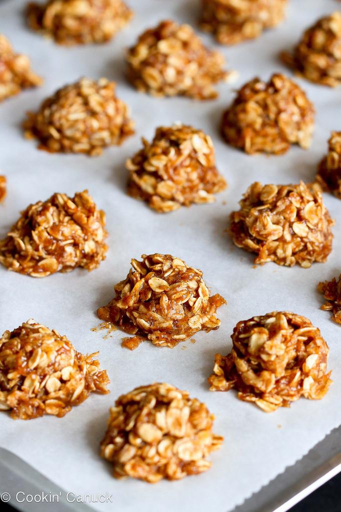 Healthy No Bake Cookies With Banana  Healthy No Bake Cookies Recipe with Maple & Banana Vegan