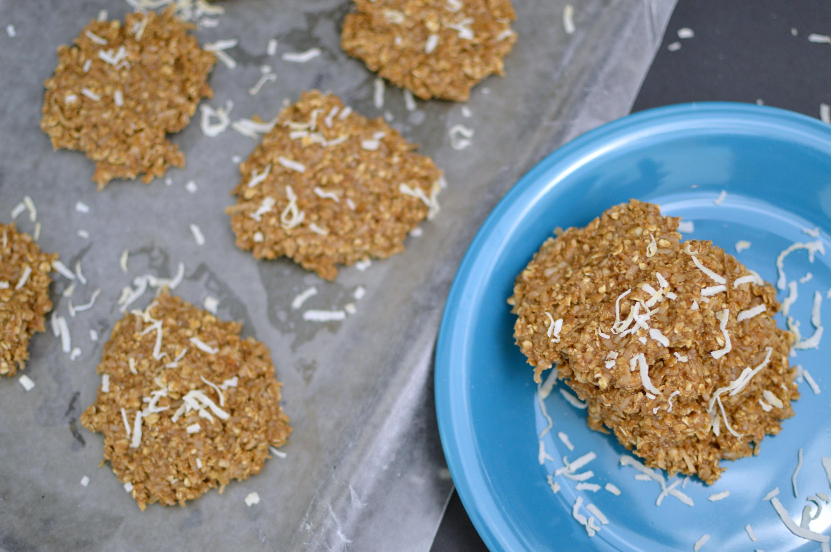 Healthy No Bake Cookies With Banana  No Bake PB2 Banana Oatmeal Cookies Recipe