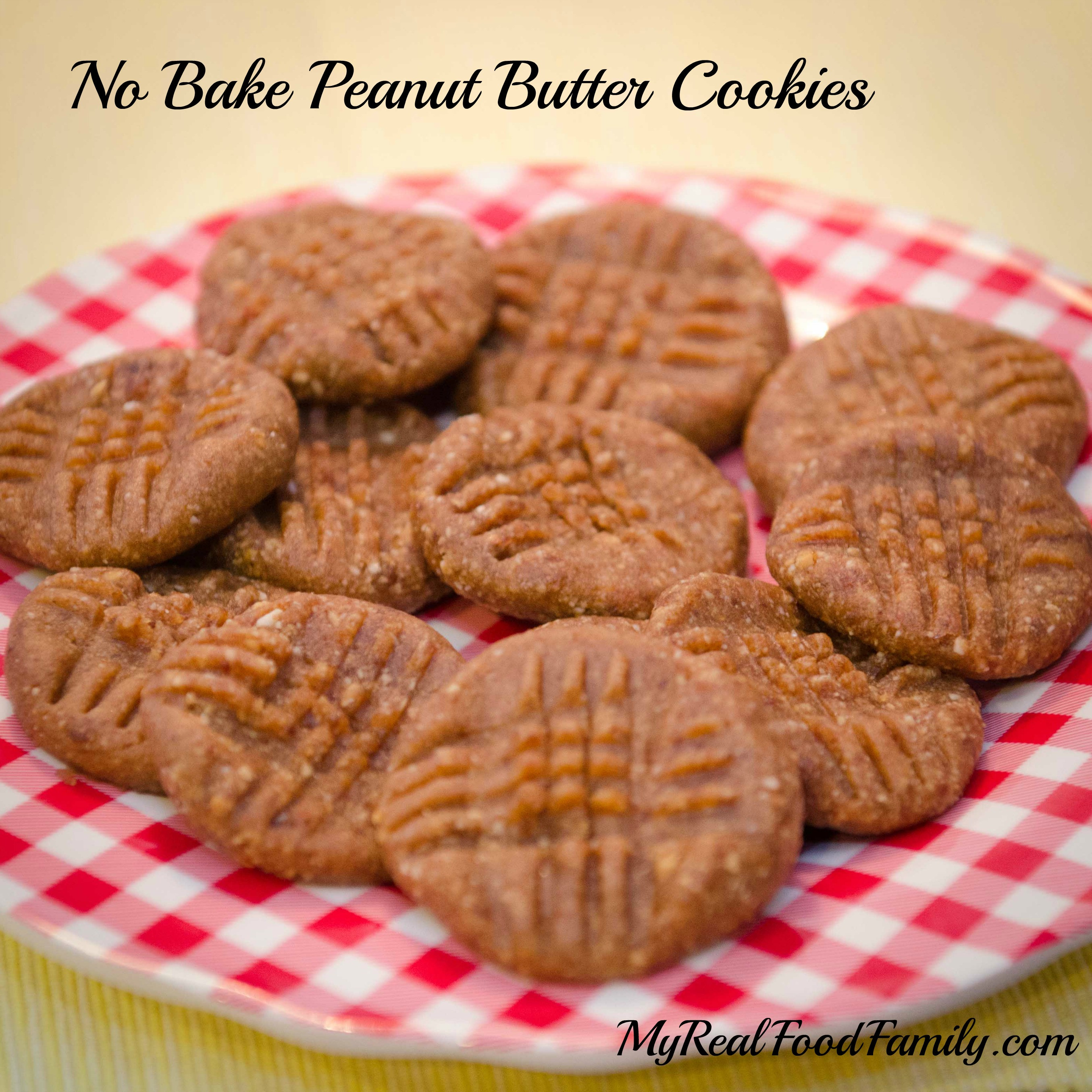 Healthy No Bake Cookies Without Peanut Butter  No Bake Peanut Butter Cookies