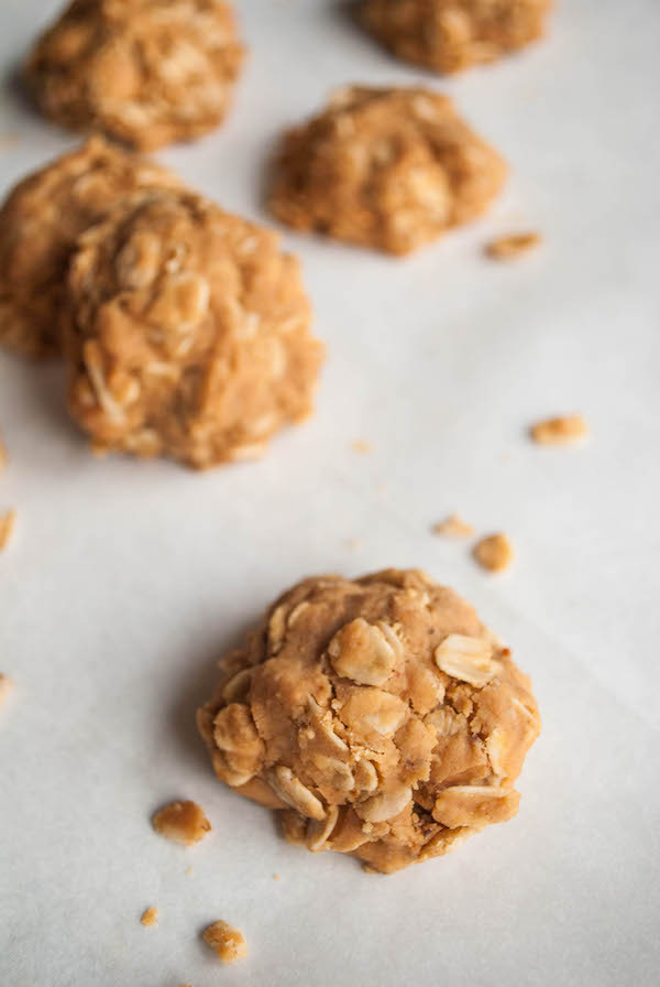 Healthy No Bake Cookies Without Peanut Butter  Healthy Peanut Butter No Bake Cookies Fooduzzi