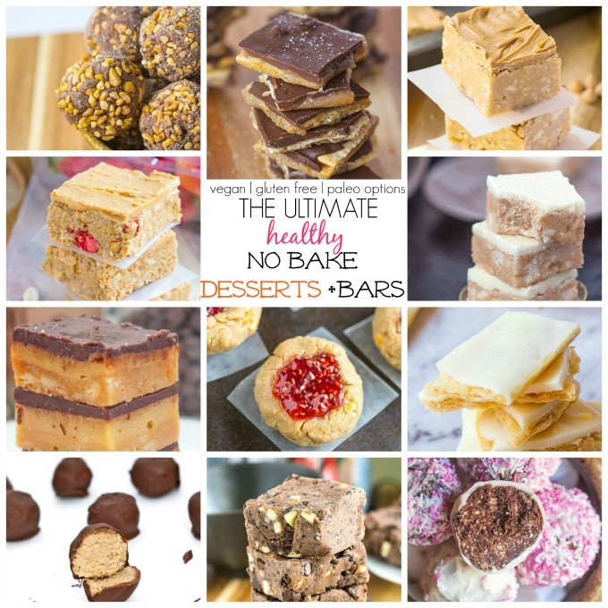 Healthy No Bake Desserts  The Ultimate Healthy No Bake Snacks