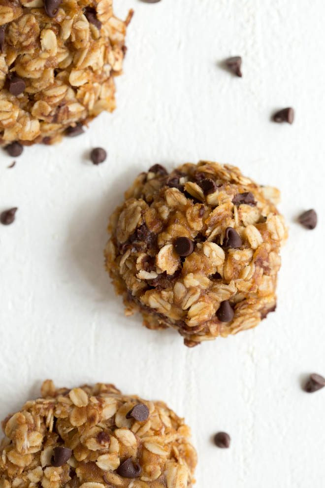 Healthy No Bake Peanut Butter Oatmeal Cookies  Healthy No Bake Chocolate Peanut Butter Oatmeal Cookies