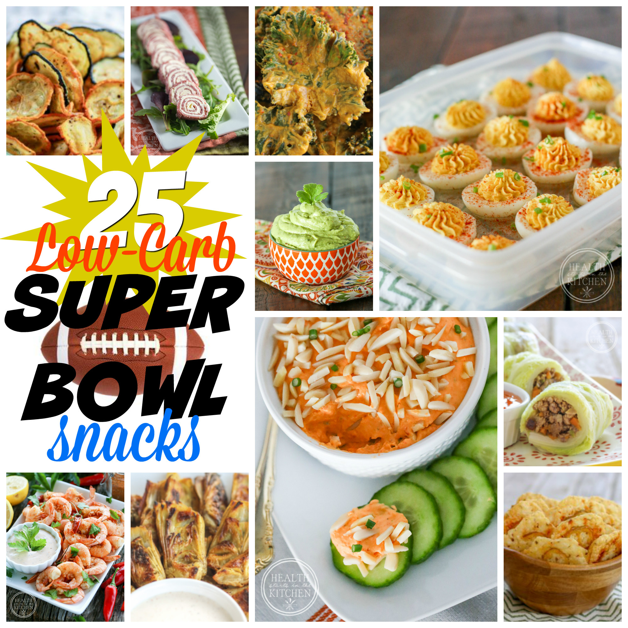 Healthy No Carb Snacks  25 Low Carb Super Bowl Snacks Health Starts in the Kitchen