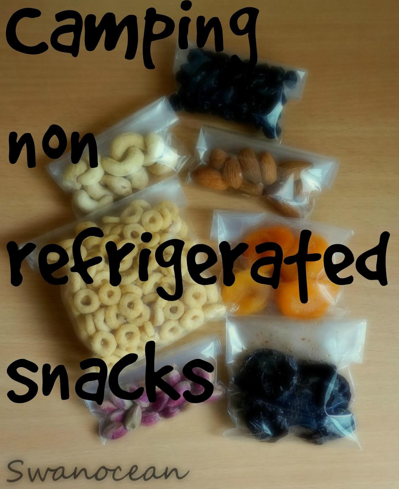 Healthy Non Refrigerated Snacks  Swanocean Camping non refrigerated snacks Σνακ