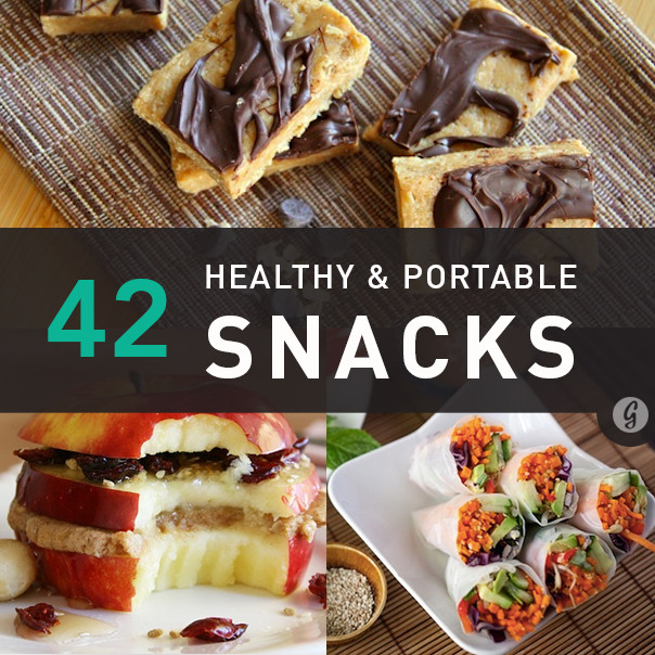 Healthy Non Refrigerated Snacks  42 Healthy and Portable Fridge Free Snacks
