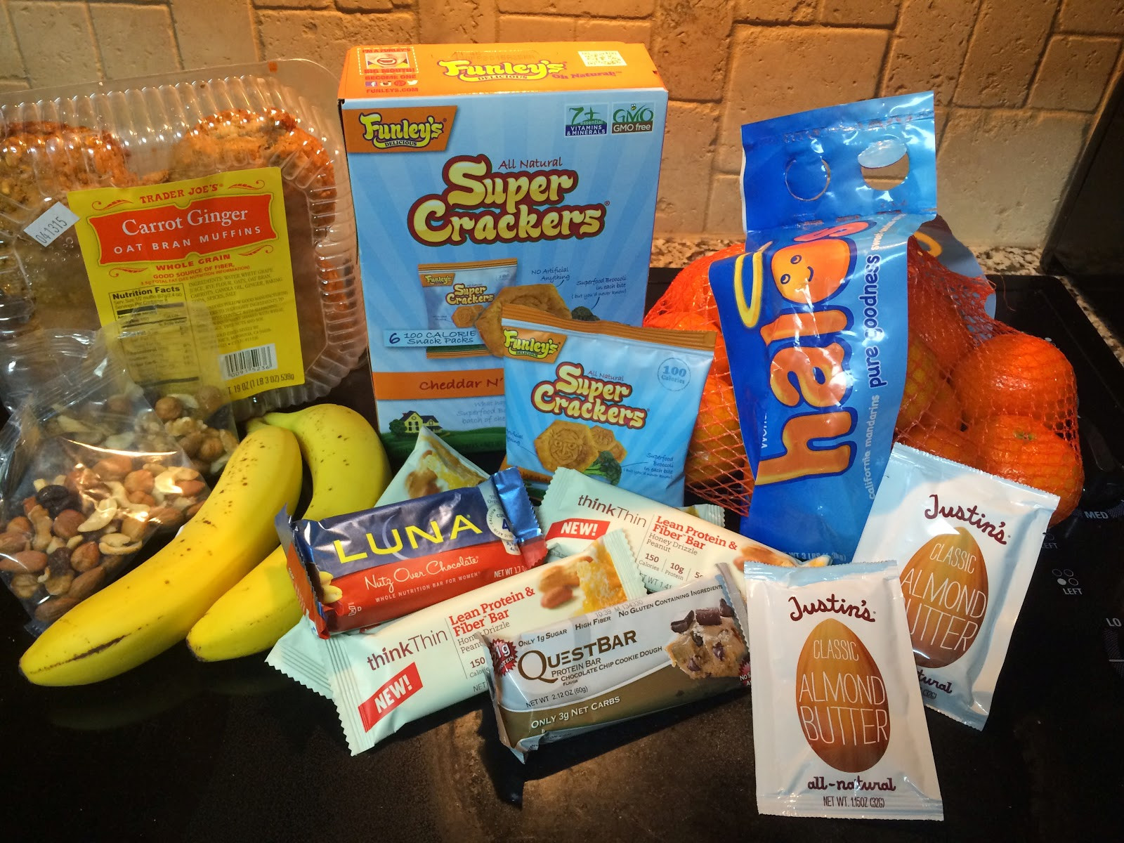 Healthy Non Refrigerated Snacks  e Fit College Girl