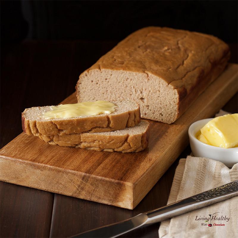 Healthy Nut Bread Recipe  Paleo Sweet Bread gluten free nut free Living Healthy