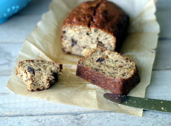 Healthy Nut Bread Recipe  Banana Bread coconut & almond flour