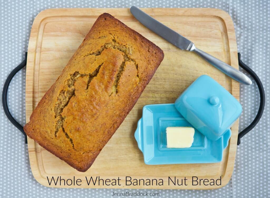 Healthy Nut Bread Recipe  Whole Wheat Banana Nut Bread Make Healthy Easy