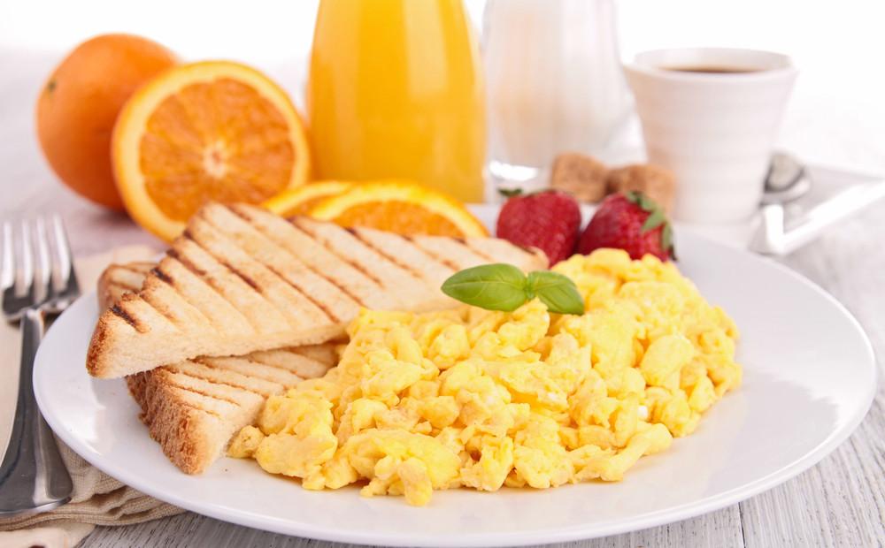 Healthy Nutritious Breakfast  A Balanced Breakfast Recipe — Dishmaps