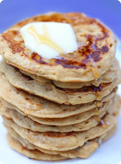 Healthy Oat Pancakes  Oatmeal Pancakes Whole Grain & Healthy