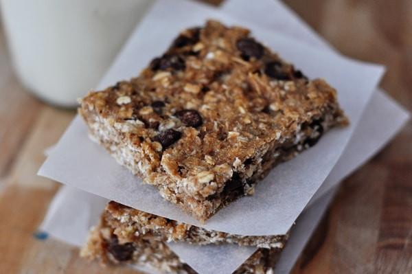 Healthy Oat Snacks  Healthy Banana Oat Snack Bars