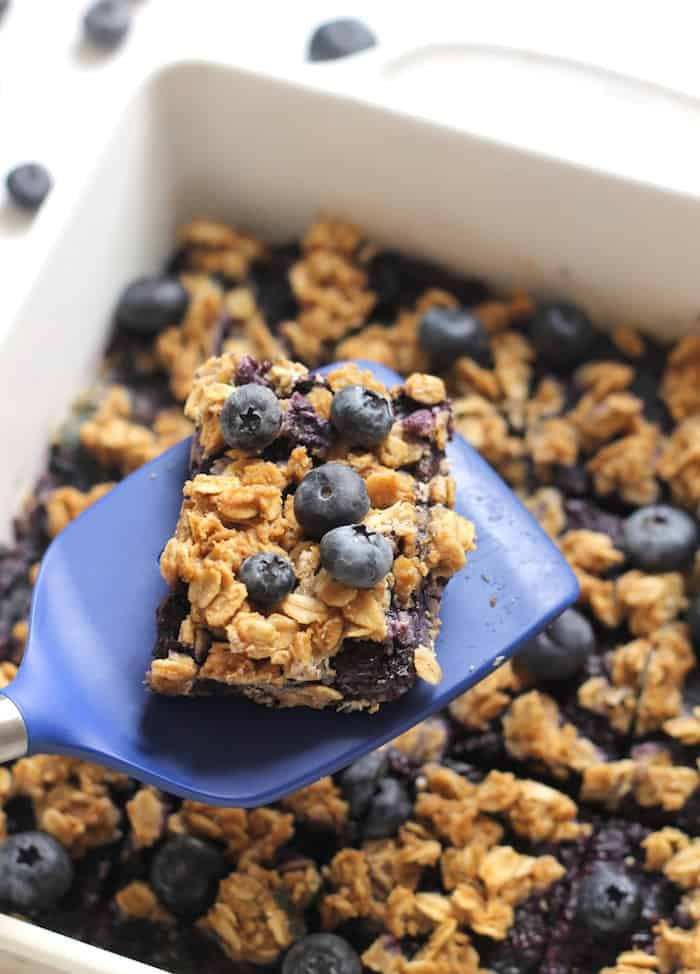 Healthy Oat Snacks  Healthy Blueberry Oatmeal Snack Bars
