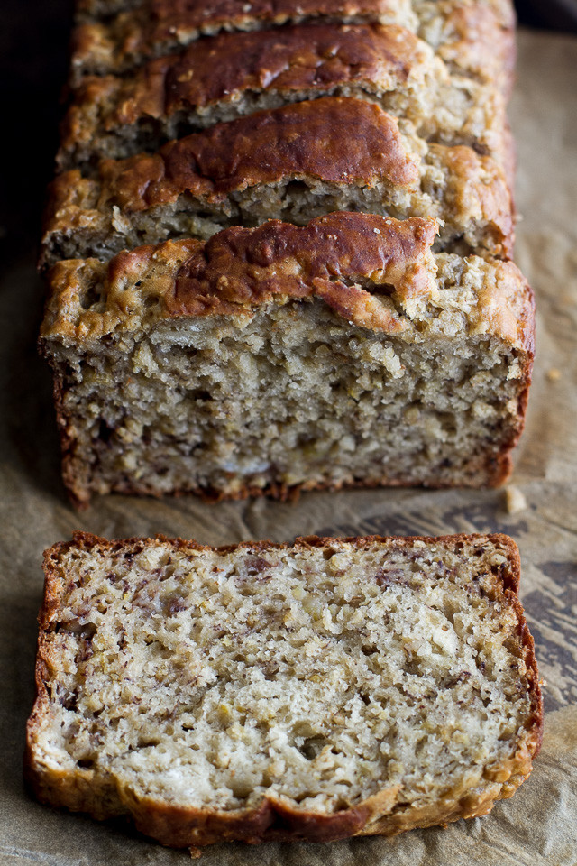 Healthy Oatmeal Banana Bread  healthy oatmeal banana bread
