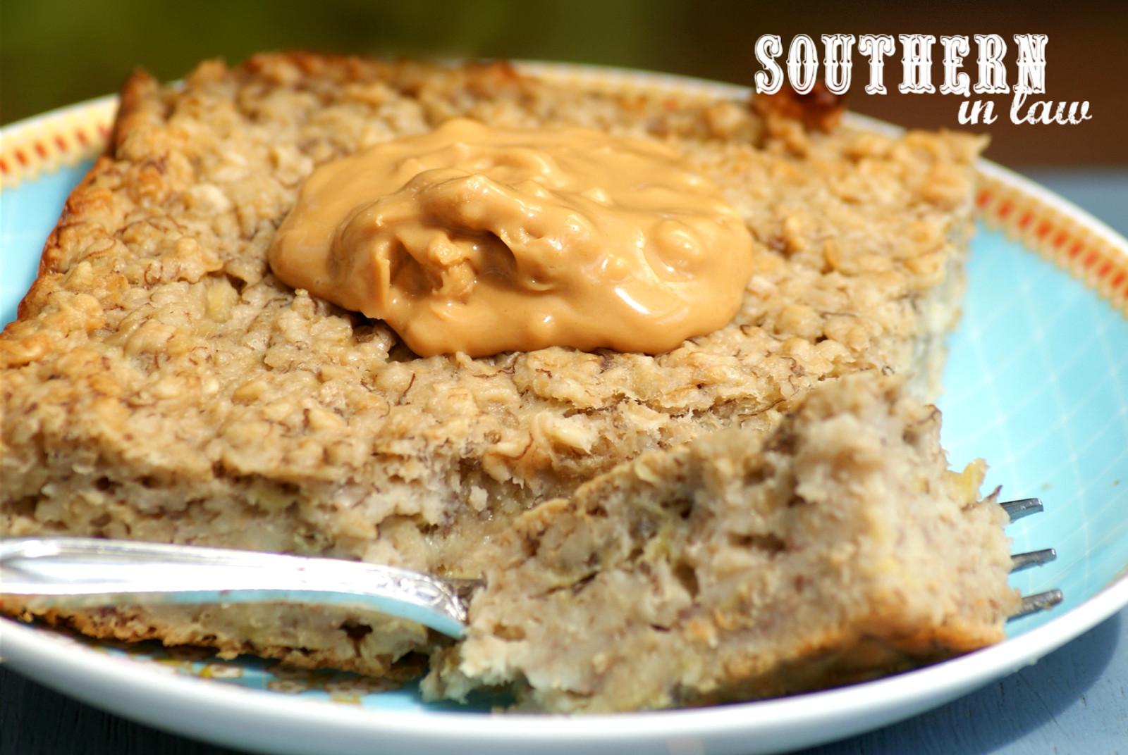 Healthy Oatmeal Banana Bread  Southern In Law Recipe Banana Bread Baked Oatmeal
